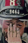 Fireman Paintings - 84.9468 by T Fischler