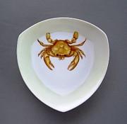 866 2 Part Of Crab Set 1 Print by Wilma Manhardt