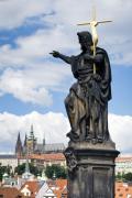 Charles Bridge Prints - Prague Print by Andre Goncalves