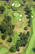 Plymouth Meeting Aerials Prints - 8th Hole Sunnybrook Golf Club 398 Stenton Avenue Plymouth Meeting PA 19462 1243 Print by Duncan Pearson