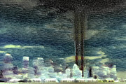Twin Towers Digital Art - 9 11 Memorial by Andrea Barbieri