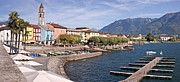 Church Street Framed Prints - Ascona - Ticino Framed Print by Joana Kruse