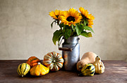 Thanksgiving Art Photos - Autumn by Nailia Schwarz