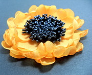 Sunflower Jewelry - Brooch by Gorean Olga