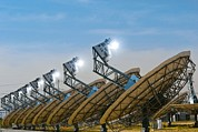 Peoria Art - Concentrating Solar Power Plant by David Nunuk