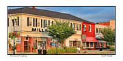 Hardware Shop Framed Prints - Downtown Perrysburg Framed Print by Jack Schultz