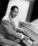 Playing Photo Framed Prints - Duke Ellington (1899-1974) Framed Print by Granger