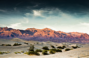 Idaho Scenery Posters - Dunes of Death Valley Poster by Marius Sipa