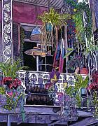 New Drawings - 9  French Quarter Balcony by John Boles