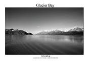 Signed Photo Framed Prints - Glacier bay Framed Print by William Jones