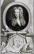 Analyze Posters - Isaac Newton, English Polymath Poster by Science Source