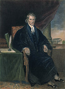 Supreme Court Framed Prints - John Marshall (1755-1835) Framed Print by Granger