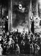 Crowd Scene Art - King Kong, 1933 by Granger