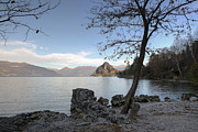 Limestone Framed Prints - Lake Maggiore Framed Print by Joana Kruse