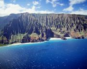 Seascape Art Photos - Na Pali Coast by Peter French - Printscapes