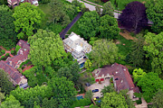 Aerial Photo Of Philadelphia Posters - 9 Norman Lane Chestnut Hill 4 Poster by Duncan Pearson