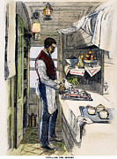 Pantry Prints - Pullman Car, 1877 Print by Granger