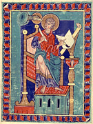 Manuscript Illumination Prints - Saint John Print by Granger