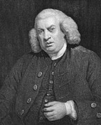 Reynolds Photos - Samuel Johnson (1709-1784) by Granger