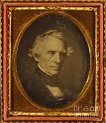 Electrical Engineer Framed Prints - Samuel Morse, American Inventor Framed Print by Science Source
