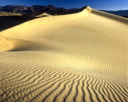 Sand Photography Framed Prints - Sand Dune  Death Valley Framed Print by Joe  Palermo