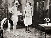 Dressing Room Prints - Silent Still: Bathing Print by Granger