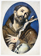 Francis Photo Prints - St. Francis Of Assisi Print by Granger