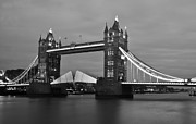 Tower Of London Prints - Tower Bridge Print by Dawn OConnor
