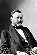 U.s Army Prints - Ulysses S. Grant, 18th American Print by Photo Researchers