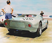 Automotive Art Prints - 904 Print by Robert Hooper