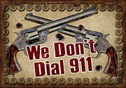 Crime Paintings - 911 by JQ Licensing
