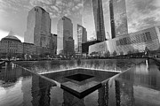 Noir Digital Art - 911 Memorial by Boris Gorelik