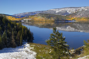 Autumn Prints Posters - Rocky Mountain Fall Poster by Mark Smith