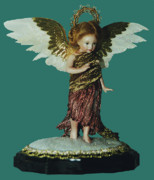 Silk Ceramics - 99MD039 - PoppetAngel by Shirley Heyn