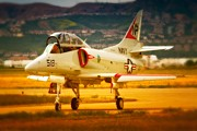 A-4 Skyhawk Up For A Hunt Print by Gus McCrea
