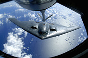 A B-2 Spirit Moves Into Position Print by Stocktrek Images