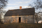 Historic Site Prints - A Barn At Waveland Farm, A National Print by Joel Sartore