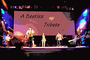 Beatles Digital Art - A Beatles Tribute by Renee Trenholm
