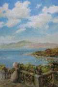 Cloudy Day Paintings - A beautiful day by Tigran Ghulyan