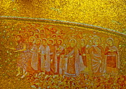 Disciples Posters - A Beautiful Golden Mosaic  Poster by Kirsten Giving