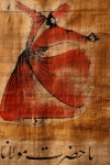 Arabic Art - A Beautiful Painting Of A Whirling by Gianluca Colla