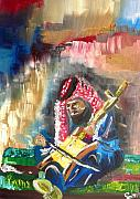 Jordan Painting Metal Prints - A Bedouin Life Metal Print by Sabrina Phillips