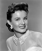 1950s Hairstyles Photos - A Blueprint For Murder, Jean Peters by Everett