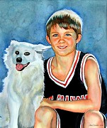 Gail Zavala - A Boy And His Dog