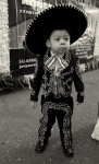 Child Portrait Photos - A Boy and His Sombrero 2 by Robert Ullmann