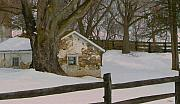 Brandywine Prints - A Brandywine Winter Print by Gordon Beck