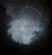 Storm Clouds Paintings - A Brief Moment in Time by Paul Horton