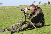 Concentration Photos - A British Army Sniper Looks by Andrew Chittock