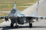 Aa Photos - A Bulgarian Air Force Mig-29 Equipped by Anton Balakchiev