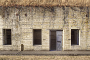 Building Feature Framed Prints - A Bunker On A Disused Military Base Framed Print by Douglas Orton